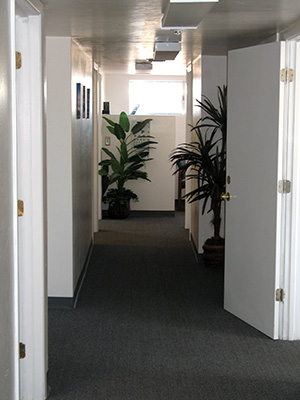 Interior View of Chiropractic Office, 22nd Street, Tucson